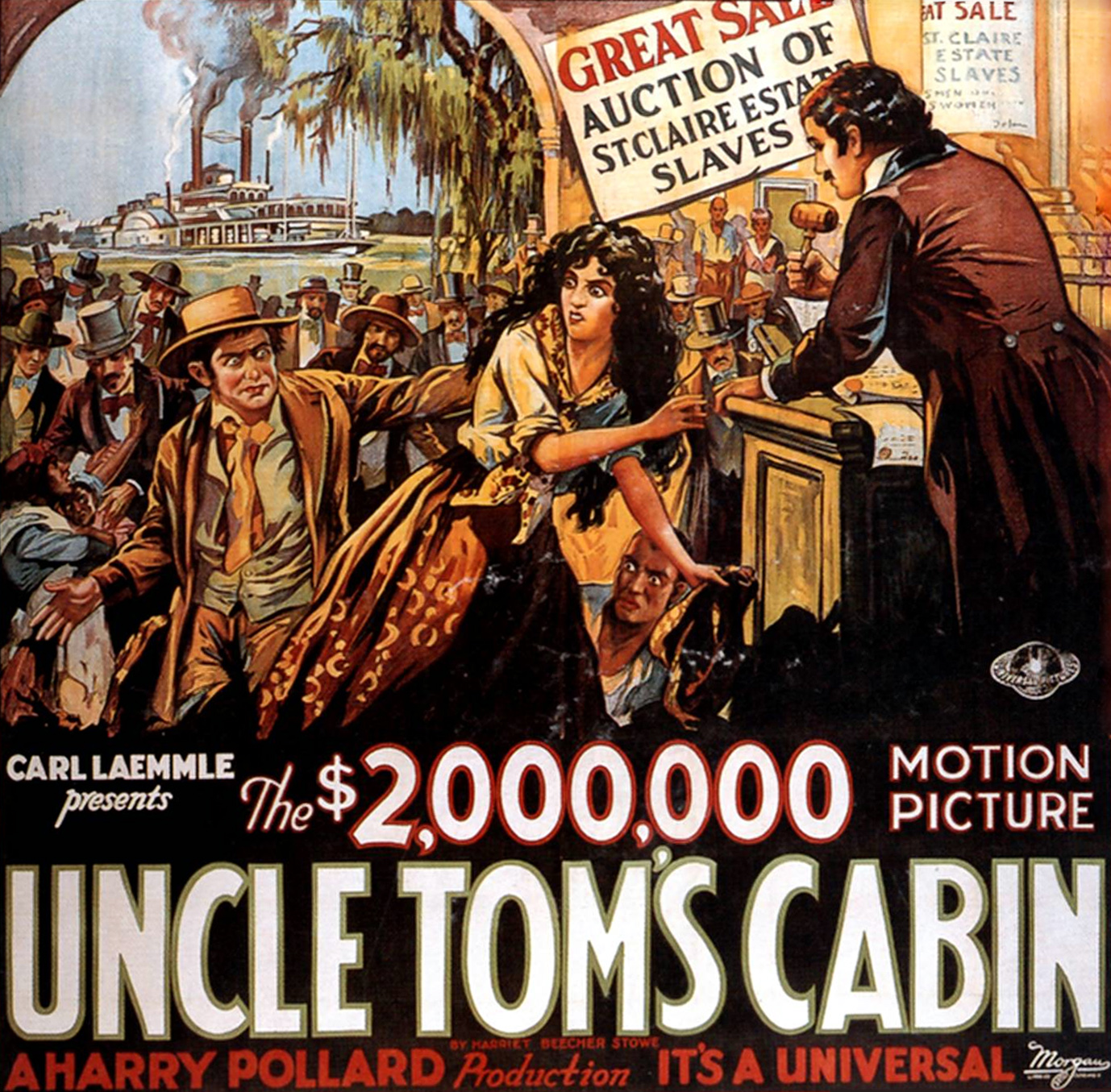 Poster - Uncle Tom's Cabin (1927)_02