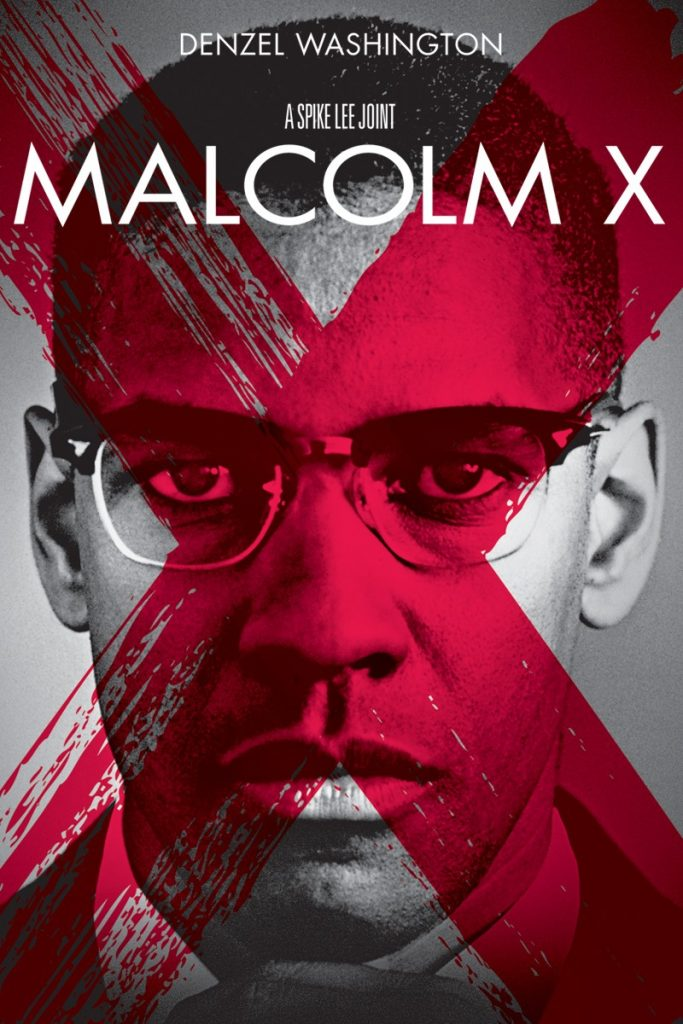 malcolm x movie cover